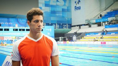نماینده شنای ایران در مسابقات جهانی بوداپست