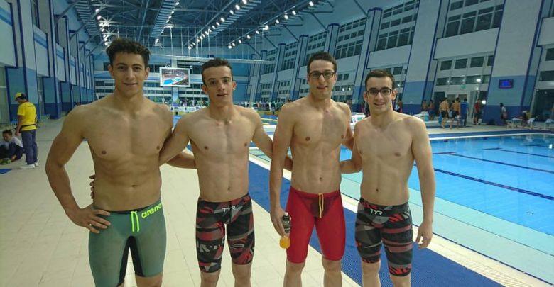 اعضای تیم ملی شنا