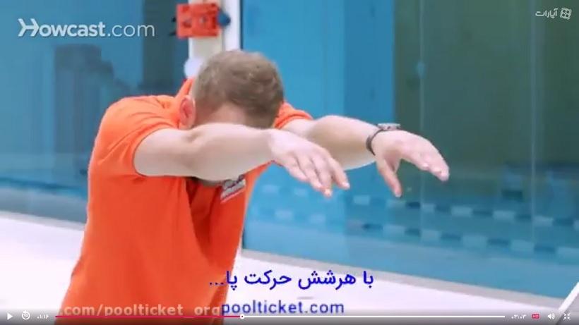 یادگیری بهتر شنا کرال سینه ویدیو