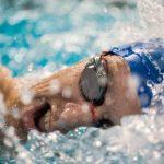 نفسگیری در شنای کرال سینه