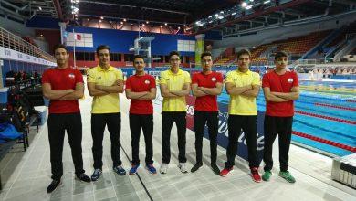 تیم ملی شنای ایران