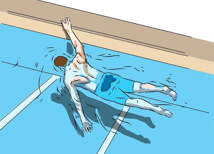 نفسگیری در شنا