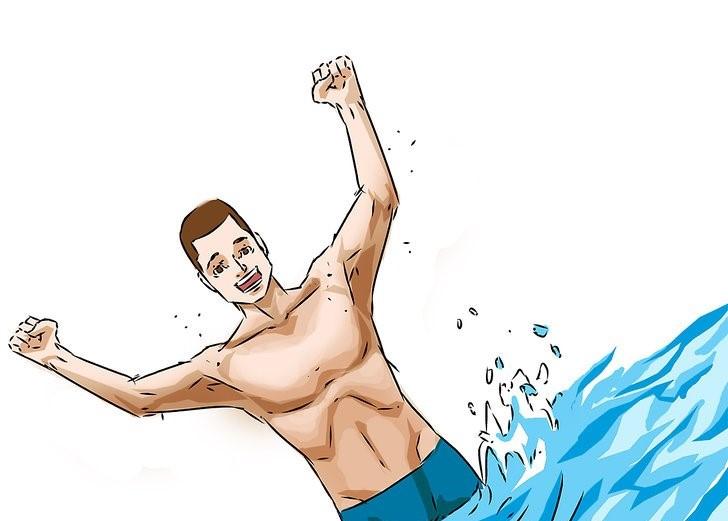 شنا بدون نگه داشتن بینی