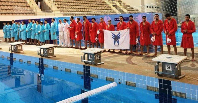 نمایندگان ایران در واترپلوی قهرمانی آسیا