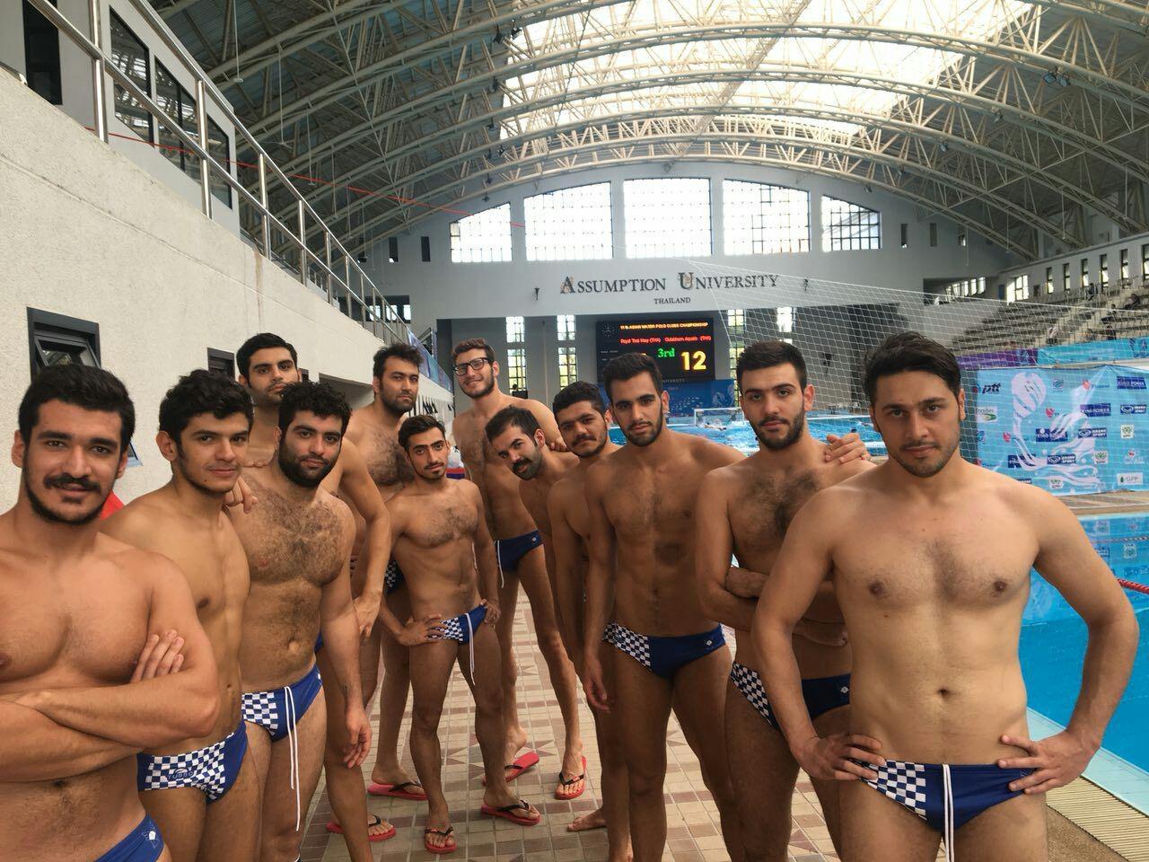 نمایندگان واترپلوی ایران در آسیا