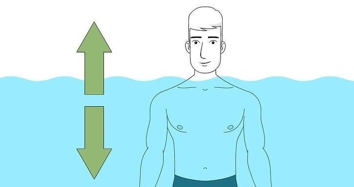 نحوه شناور ماندن روی آب