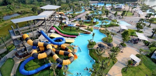 بهترین پارک آبی تایلند