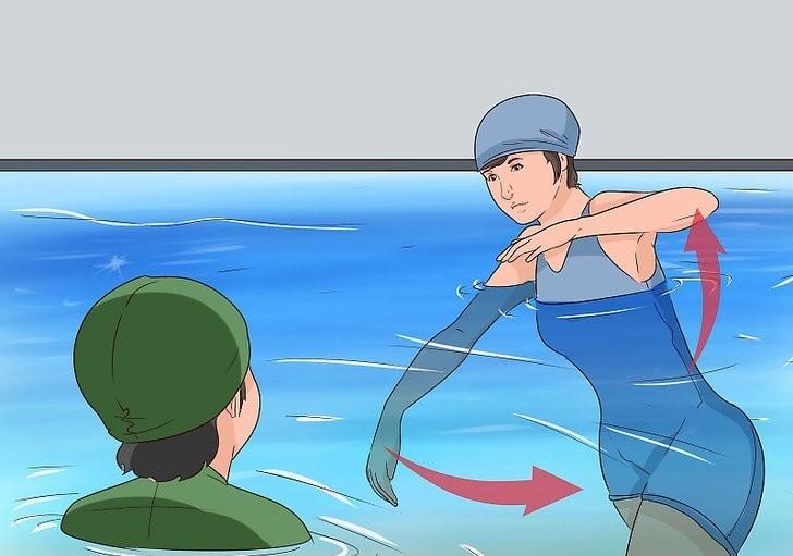 نحوه آموزش شنا به کودکان