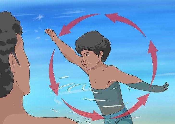 چگونگی آموزش شنا به کودکان