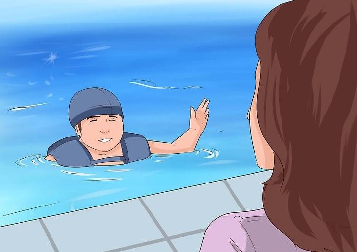 عکس آموزش شنا