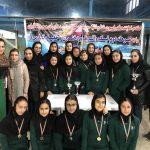 قهرمانی هیات شنا فارس در لیگ واترپلو بانوان
