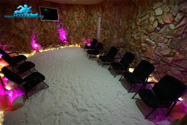 اتاق نمک پارک ساحلی آفتاب مشهد