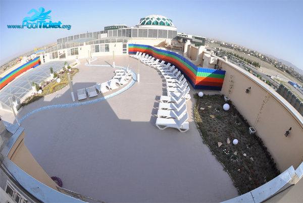 پارک ساحلی آفتاب مشهد حمام آفتاب