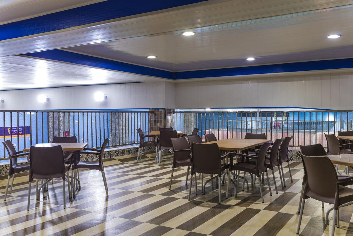رستوران پارک آبی سرزمین موج های دریایی (فضیلت) نجف آباد