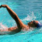 شنای کرال پشت