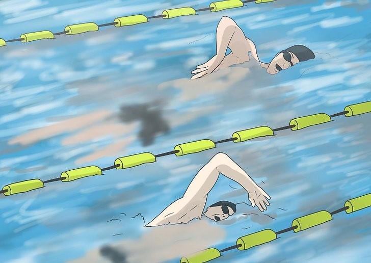 شنا با دوستان