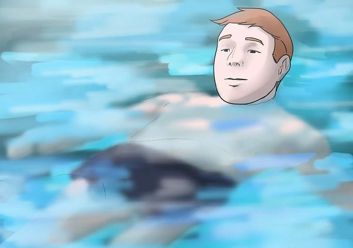 شناور ماندن روی آب را تمرین کنید