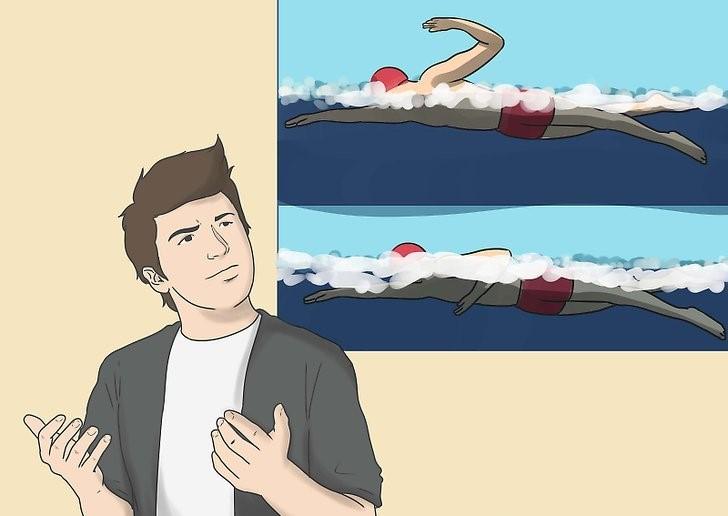 آموزش شنای حرفه ای