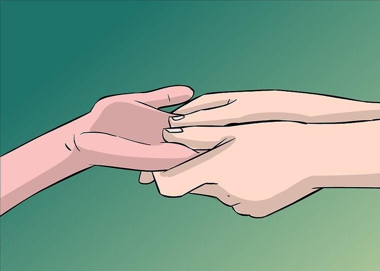 ماساژ انگشت دست