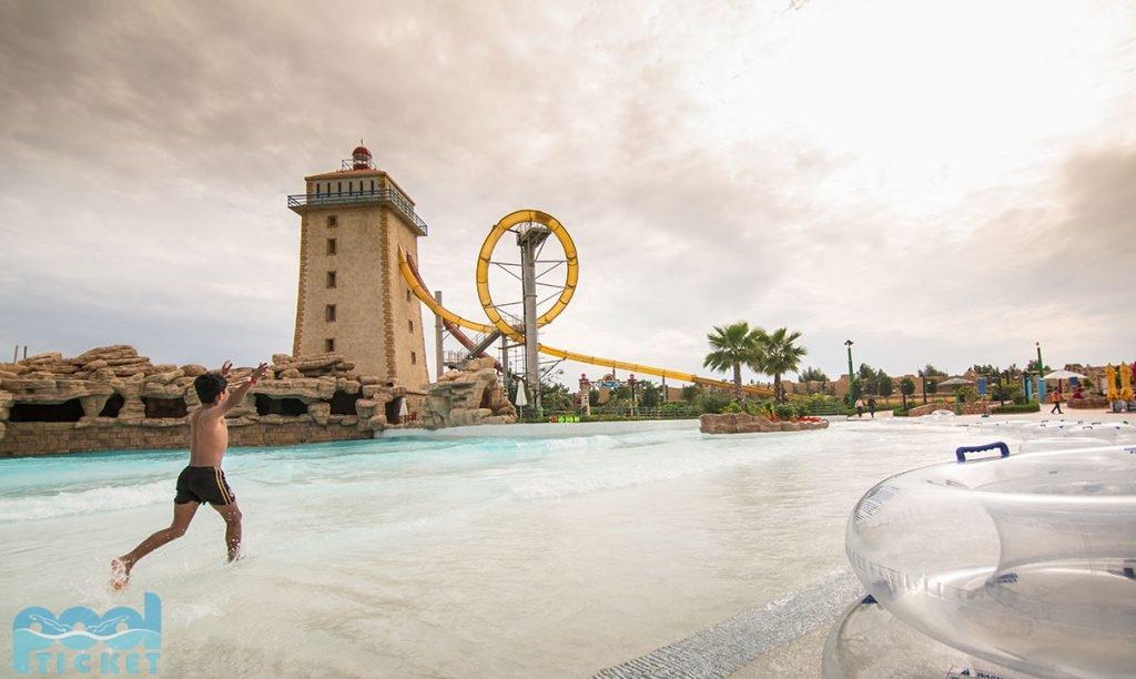 عکس برج پارک آبی کیش