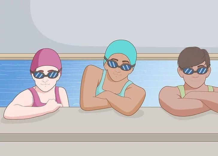 گروهی شنا کنید تا انگیزهتان حفظ شود