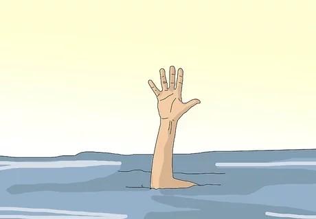 یاد بگیرید که وقتی یک نفر در حال غرق شدن است، چطور به نظر میرسد.